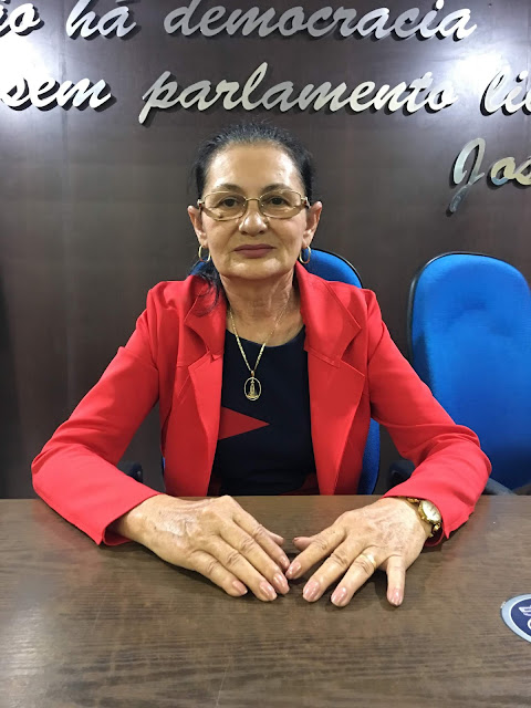 Resultado de imagem para Vereadora Vera Lúcia de Chapadinha