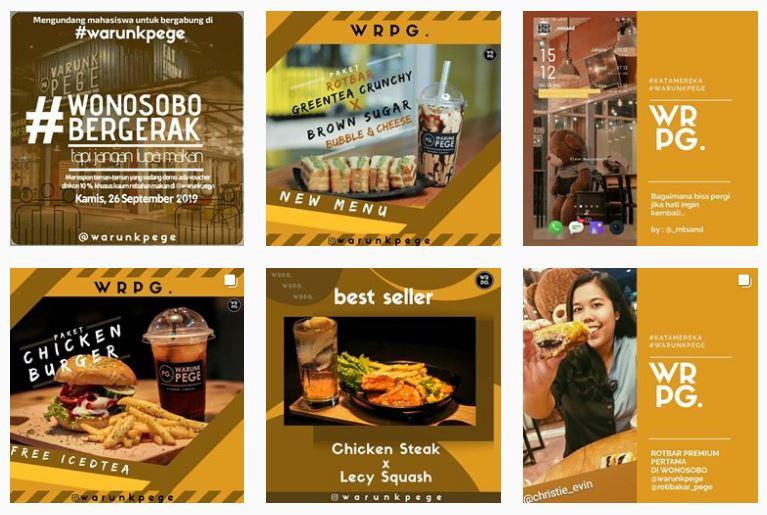 Katalog Digital Warunk Pege Wonosobo