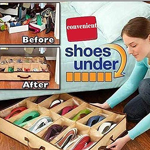 AMAZON - 80% off  12 Grid Shoes Storage till Aug 31