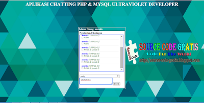 Download Source Code Gratis PHP Aplikasi Chatbox