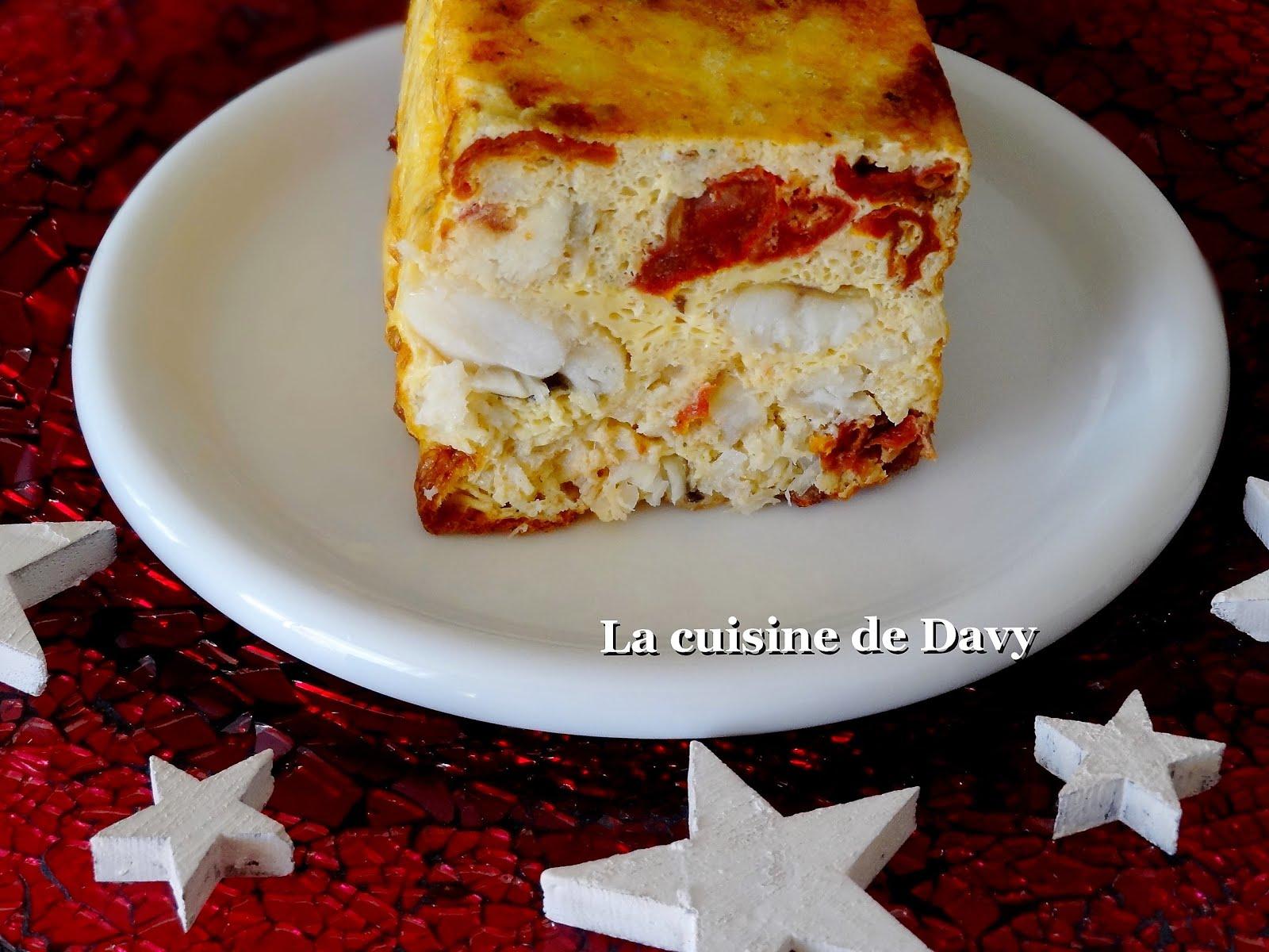 La Cuisine De Davy Terrine De Lotte Aux Tomates Sechees
