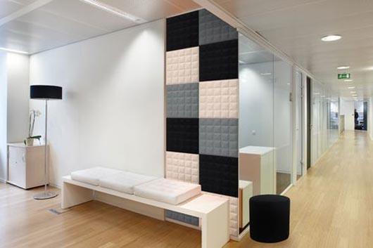 dicas decoração O Tile 3D colorida