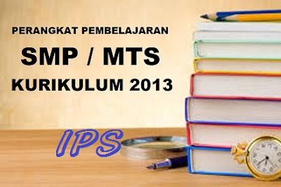Perangkat Pembelajaran IPS SMP Kelas 7, 8, 9 Kurikulum 2013 Revisi 2017