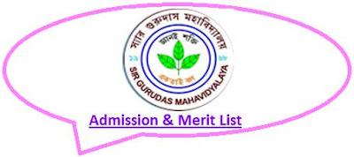 Sir Gurudas College Merit List