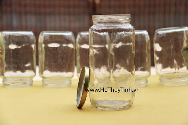 Hu lo 1 lit dung mat ong