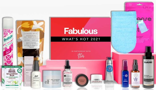 LATEST IN BEAUTY X FABULOUS 'WHAT'S HOT 2021'