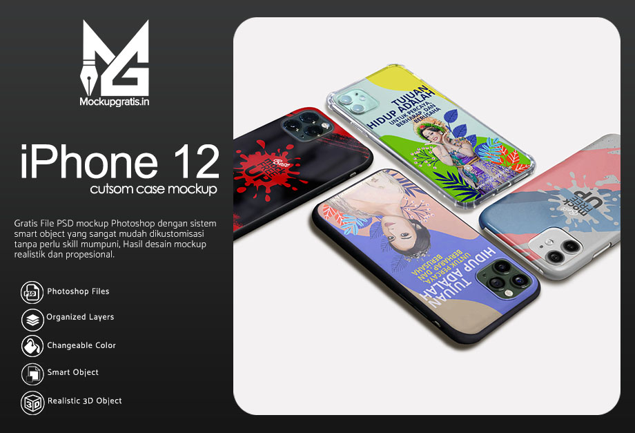 Mockup Custom Case iPhone 11