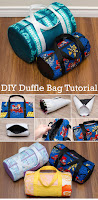 Duffle Bag Tutorial and Pattern