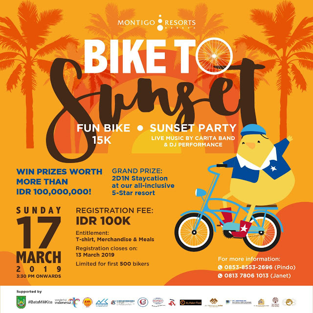 Bike to Sunset at Montigo Resort