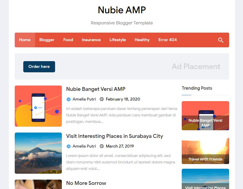 Nubie-amp-blogger-template