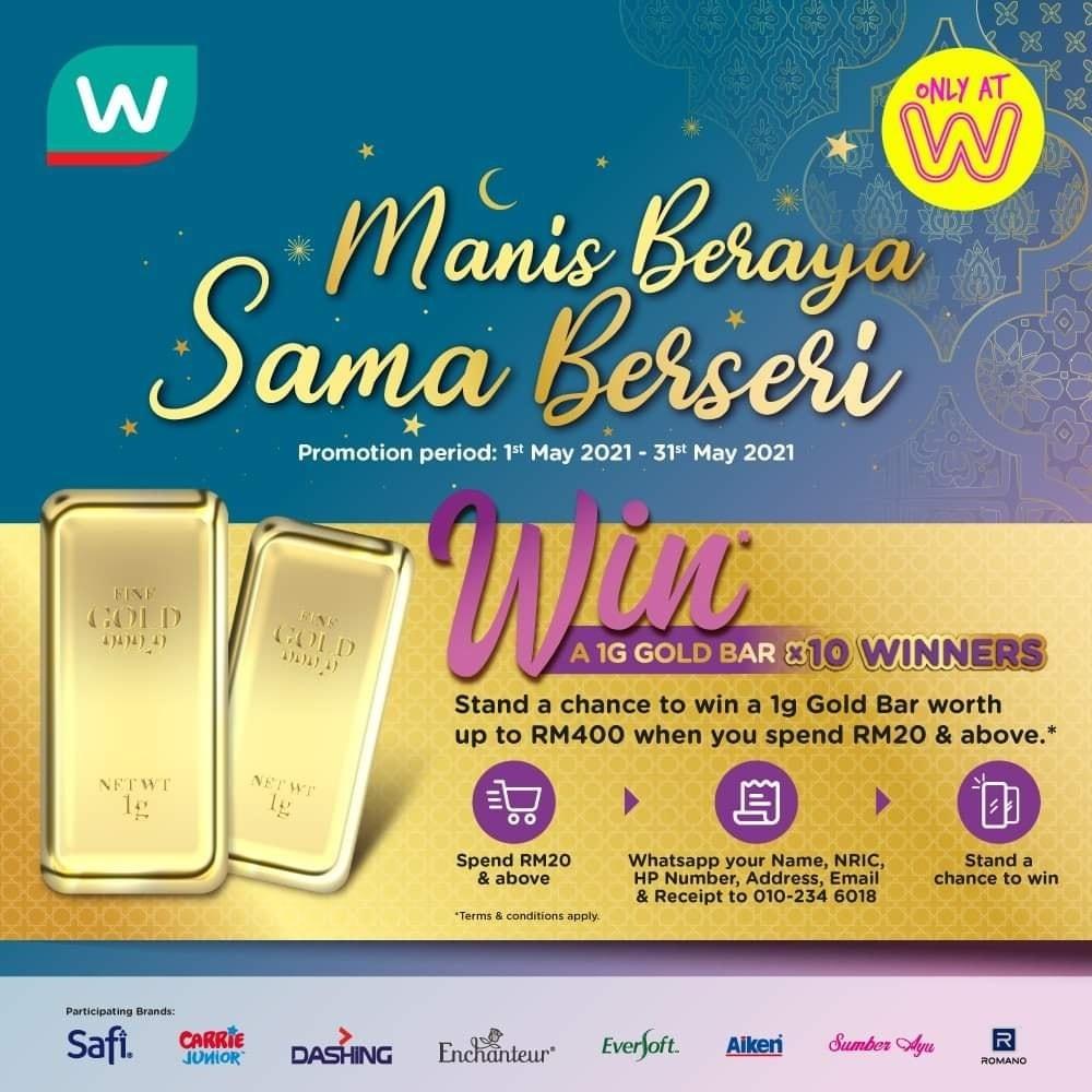Wipro Unza: Manis Beraya, Sama Berseri Contest
