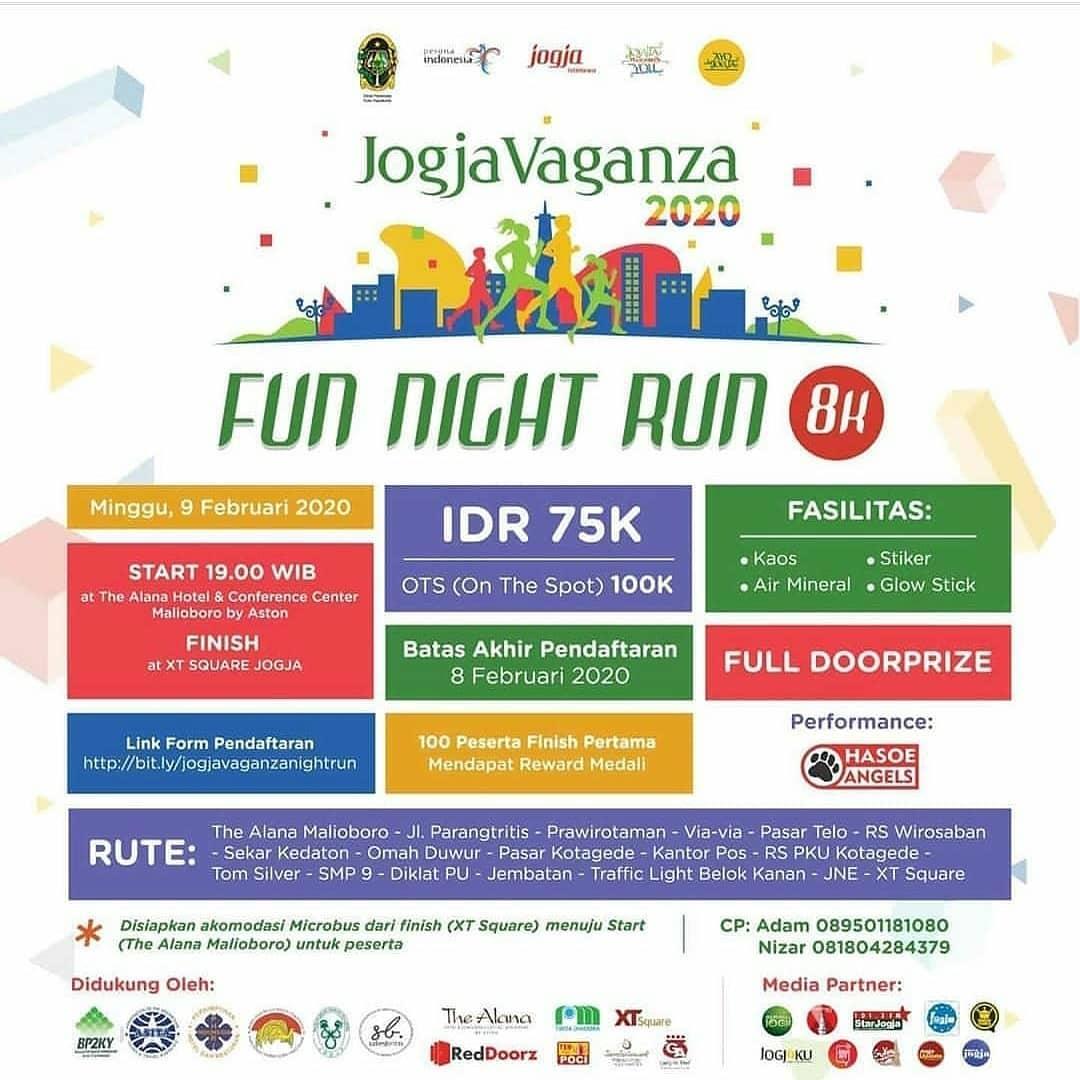 Jogjavaganza Fun Night Run • 2020