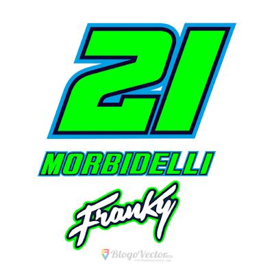 Franco Morbidelli #21 Logo Vector