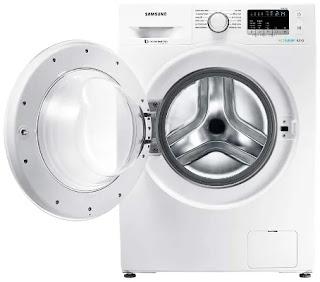 Samsung 8 kg Inverter Fully Automatic Front Load Washing Machine (WW80J4243MW)