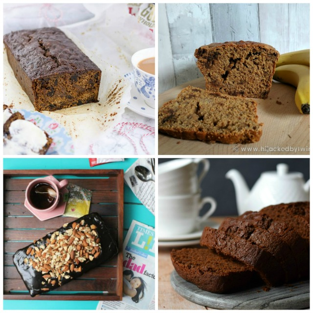 Loaf cake recipes - malt loaf, banana & date loaf, gingerbread, almond loaf cake.