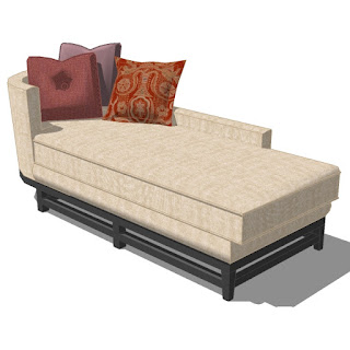 Sketchup - Chaise Longue-003