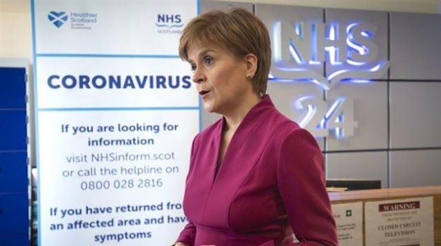 Scotland's First Minister, Nicola Sturgeon proposes different lockdown 'exit' strategy from the rest of UK