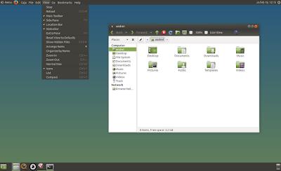 Global Menu Ubuntu MATE Vala Panel AppMenu