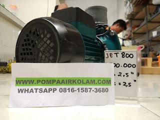 Pompa Air Kolam Hemat Listrik Jet 800