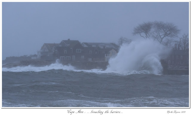 Cape Ann: ... breaching the barriers...