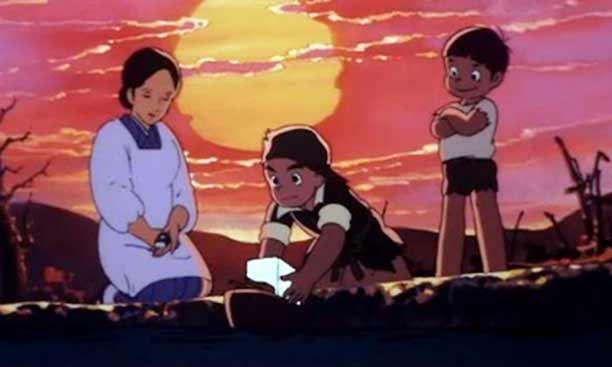 Daftar Rekomendasi Anime Sedih Terbaik - Hadashi no Gen