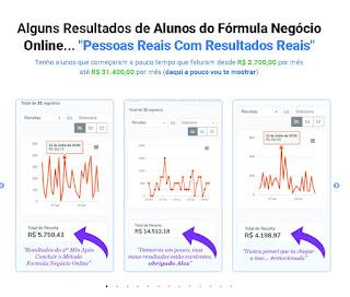 Fórmula Negócio Online - Resultados - FNO - Alex Vargas