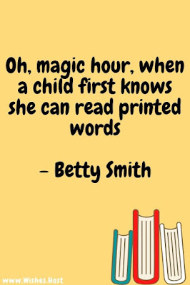 child reading quote