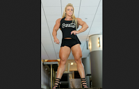 Anne Freitas Female bodybuilding