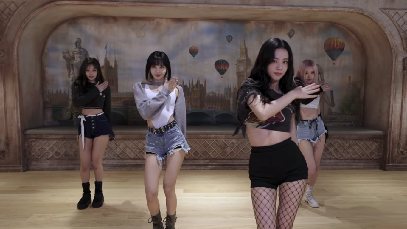 BLACKPINK Releases The Choreography of 'Lovesick Girls'
