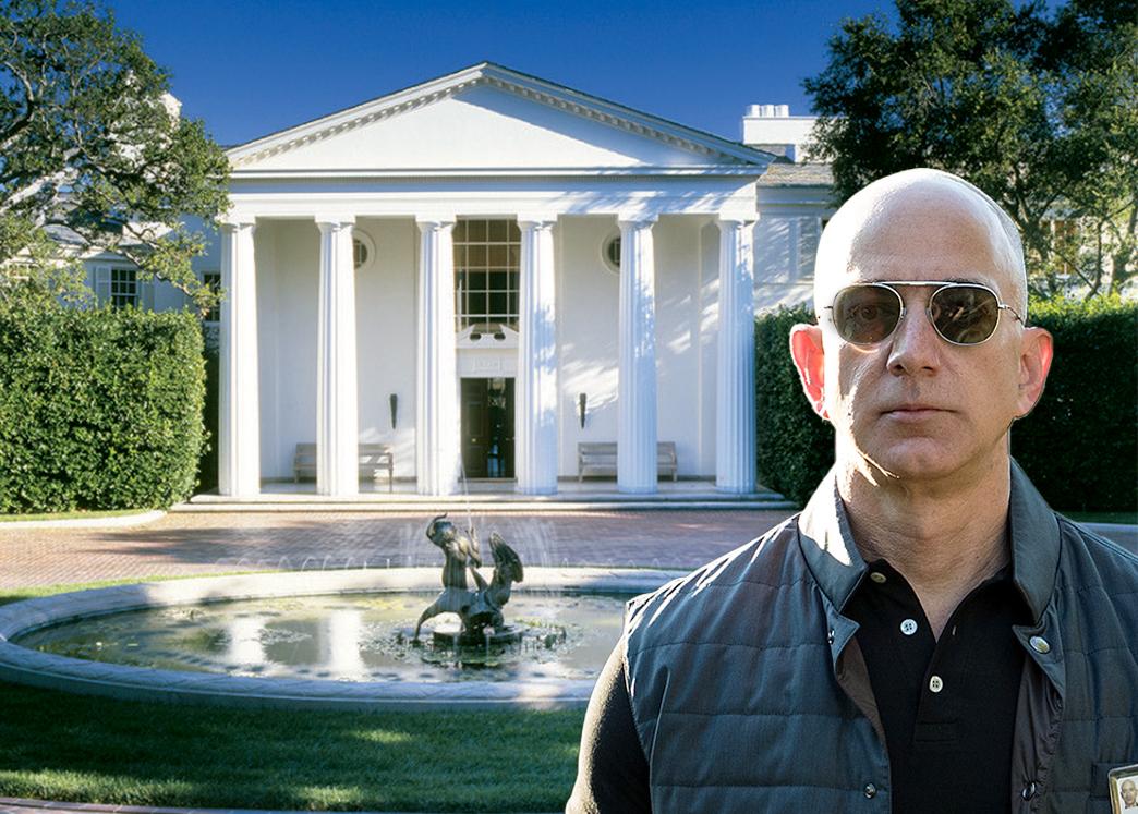 Jeff Bezos compra la mansión más cara de la historia