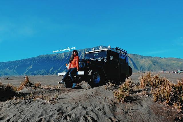 pengalaman sewa jeep murah di bromo