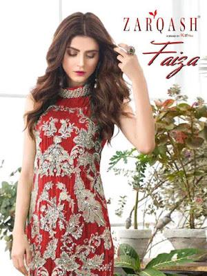 Zarqash Faiza pakistani Suits Wholesaler price