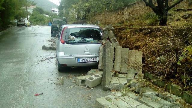 Μεγάλες ζημιές στην Πέρδικα Θεσπρωτίας άφησε πίσω της η θεομηνία (ΦΩΤΟ+ΒΙΝΤΕΟ)