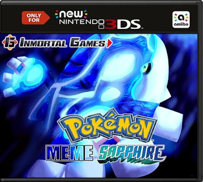 Pokémon Meme Sapphire Decrypted 3DS EUR