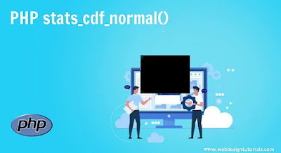 PHP stats_cdf_normal() Function