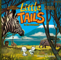 Bea's Book Nook, Review, Little Tails in the Savannah, Frederic Brremaud, Federico Bertolucci