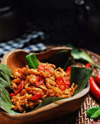 Resep Ayam Suwir Masak Cabai