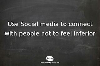 Image displaying what social media is all about