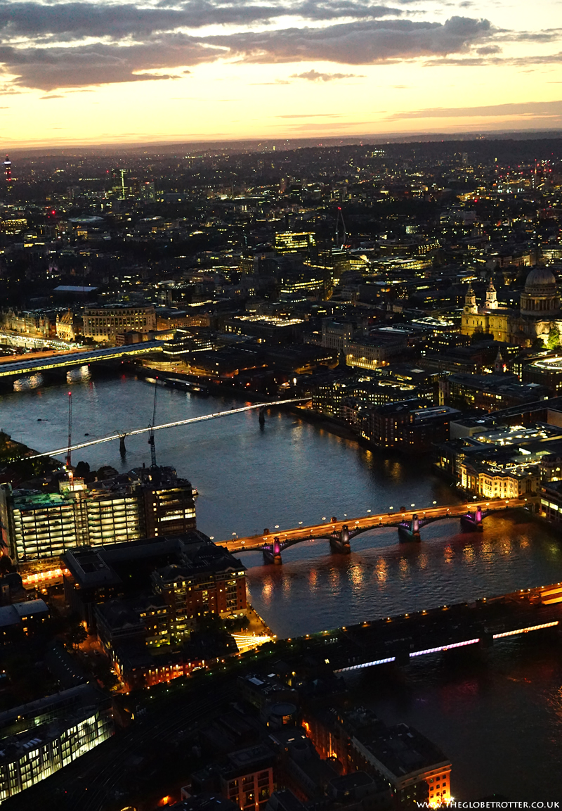 The View from the Shard - London Skyline