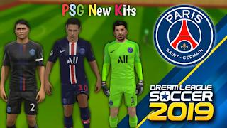PSG Kits 2019 for Dream League Soccer 2019