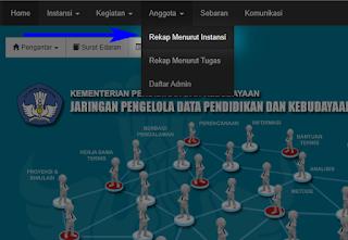 cara mencari nomor HP di https://sdm.data.kemdikbud.go.id/