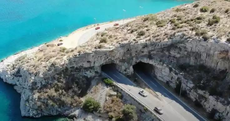 Κλειστή η Αθηνών- Σουνίου λόγω ρωγμής στο βράχο στη γέφυρα του Καραμανλή