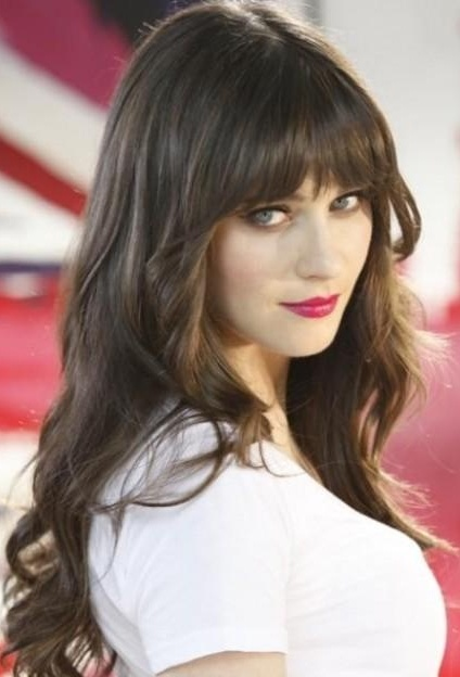 Hairstyles hairstyles with bangs most hair styles with bangs look good on all hair textures and all face types bangs are great ways to create and alter different styles urmus Images