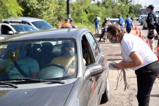 Natal e cidades da Região Metropolitana fazem barreiras sanitárias para conter avanço do coronavírus