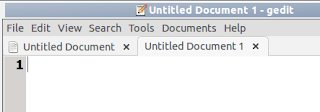 Uklonite tab bar u Gedit Ubuntu Linux trikovi