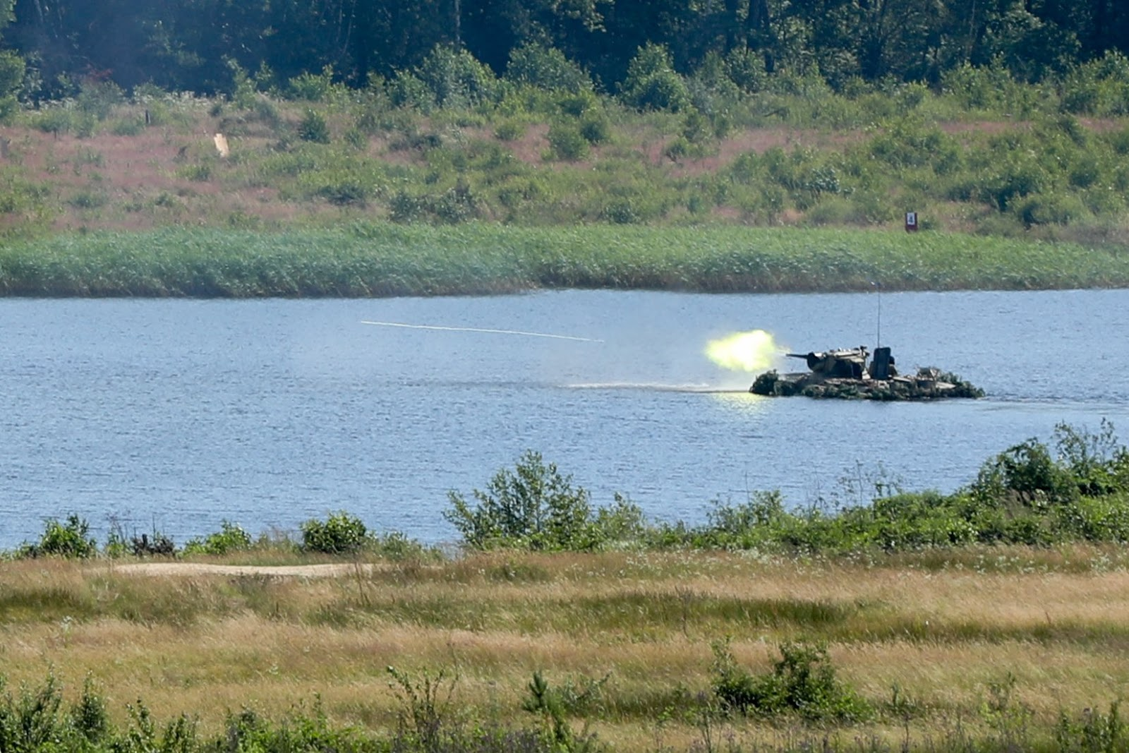 Ukrainian paratroopers test armored personnel carriers