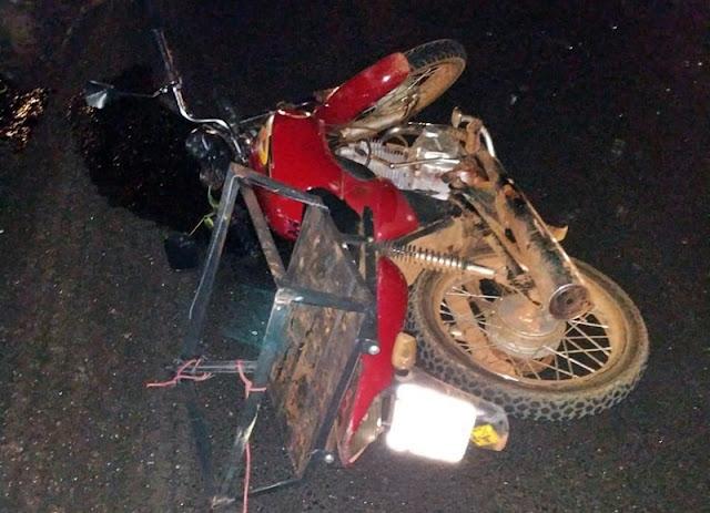 Iretama: Motociclista morre em acidente próximo ao Rio Muquilão