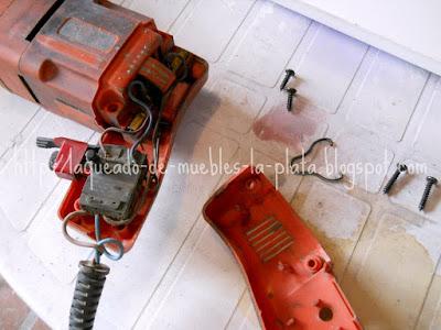Desarmar taladro eléctrico