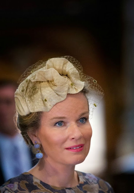 King Philippe and Queen Mathilde visited Gent