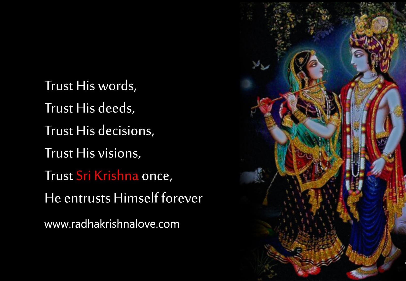 Radha Krishna Love Quotes Images Hd The Galleries Of Hd Wallpaper